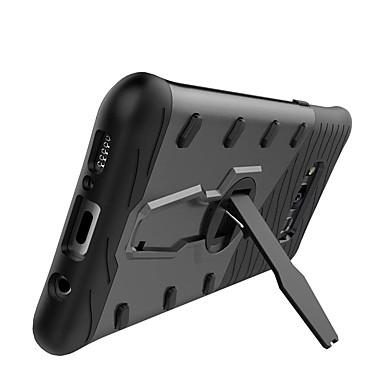 voordelige Galaxy S-serie hoesjes / covers-hoesje Voor Samsung Galaxy S8 Plus / S8 / S7 edge 360° rotatie / Schokbestendig / met standaard Achterkant Effen Hard PC