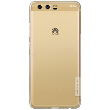 voordelige Huawei Mate hoesjes / covers-hoesje Voor Huawei P10 Plus / P10 Lite / P10 Transparant Achterkant Effen Zacht TPU / Mate 9 Pro