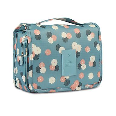 levne Cestovní tašky-Organizér zavazadel Kosmetická taška Cestovní taška na hygienické potřeby Voděodolný Přenosný Skládací Cestovní sklad Cestování Nylon Květinový Dárek Pro /
