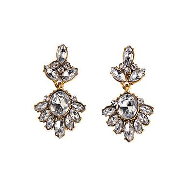 رخيصةأون أقراط-نسائي موضة الأقراط مجوهرات أبيض من أجل مناسب للحفلات هدية فضفاض