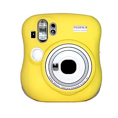 olcso Tokok, táskák & pántok-Digitális fényképezőgép-Fujifilm-Tok-Félvállas-Sárga Rózsaszín Kék-