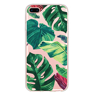 voordelige iPhone 5 hoesjes-hoesje Voor iPhone 7 / iPhone 7 Plus / iPhone 6s Plus iPhone SE / 5s Ultradun / Patroon Achterkant Tegel Zacht TPU