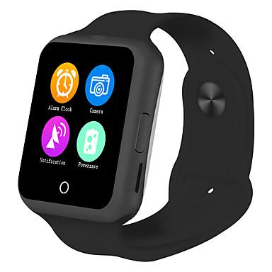 رخيصةأون ساعات ذكية-سمارت ووتش إلى iOS / Android رصد معدل ضربات القلب / رمادي داكن / إسبات الطويل / شاشة لمس / الجامعة، تذكرة بالاتصال / متتبع النشاط / متتبع النوم / تذكير المستقرة / أجد هاتفي / 0.3 MP / ساعة منبهة