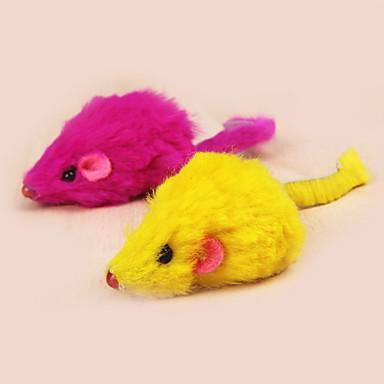 رخيصةأون لعب-ألعاب تسلية القطط قط قطة صغيرة حيوانات أليفة ألعاب ماوس منسوجات هدية