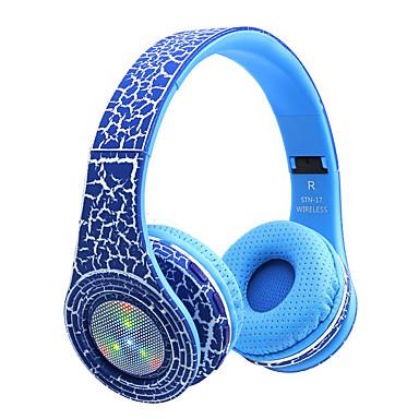 olcso Gaming fülhallgatók-soyto STN-17 Fülbe helyezhető fejhallgató Vezeték nélküli Utazás és szórakozás V3.0 Fénylő Zajszűrő Mikrofonnal
