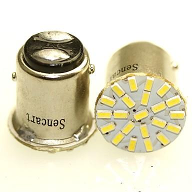 voordelige Motorverlichting-SENCART BA15S (1156) / BA15D (1142) / BAY15D(1165) Motor / Automatisch Lampen 1-2W SMD 3014 120-180lm Achterlicht