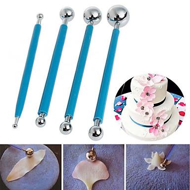 رخيصةأون أدوات الفرن-4PCS الفولاذ المقاوم للصدأ زفاف عيد ميلاد عيد الحب كعكة لكعكة لكاندي أداة تزيين أدوات خبز