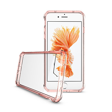 voordelige iPhone 7 Plus hoesjes-hoesje Voor Apple iPhone 7 Plus / iPhone 7 / iPhone 6s Plus Ultradun / Transparant / Doorzichtig Achterkant Effen Hard Acryl