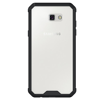 voordelige Galaxy A-serie hoesjes / covers-hoesje Voor Samsung Galaxy A3 (2017) / A5 (2017) / A7 (2017) Schokbestendig / Transparant Achterkant Effen Hard Acryl