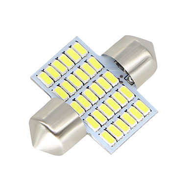 voordelige Motorverlichting-SO.K 2pcs 31mm Automatisch Lampen 3 W SMD 3014 300 lm LED Interior Lights