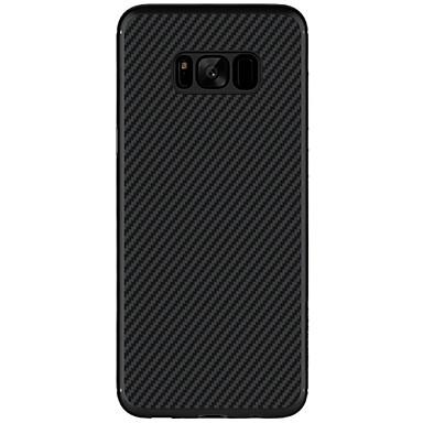 رخيصةأون حافظات / جرابات هواتف جالكسي S-Nillkin غطاء من أجل Samsung Galaxy S8 Plus / S8 نحيف جداً / نموذج غطاء خلفي لون سادة قاسي كربون فيبر إلى S8 Plus / S8 / S7 edge
