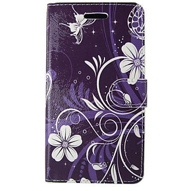 cheap Galaxy A5 Cases / Covers-Case For Samsung Galaxy A3(2017) / A5(2017) / A5(2016) Wallet / Card Holder / with Stand Full Body Cases Cartoon / Flower Soft PU Leather