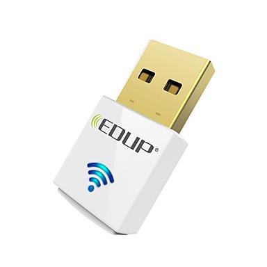 povoljno Umrežavanje-Edup usb wirelss wifi adapter 600mbps dual band 11ac mini bežična mrežna kartica dongle ep-ac1619