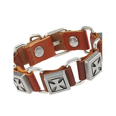 1e369f324a9 Lederen armbanden - Leder Dames, Natuur, Modieus Armbanden Sieraden Zwart /  Bruin Voor Speciale gelegenheden Lahja 5894492 2019 – €1.99