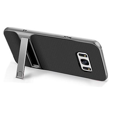 povoljno Samsung oprema-Θήκη Za Samsung Galaxy S8 Plus / S8 / S7 Otporno na trešnju / sa stalkom Stražnja maska Jednobojni Tvrdo TPU