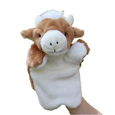 olcso Bábok-Ujjbáb Bábok Cuki Állatok Szeretetreméltő Cow Tactel Plüs Gyermek Játékok Ajándék