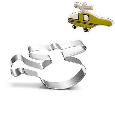 طائرة هليكوبتر الكوكيز القاطع المقاوم للصدأ البسكويت كعكة العفن أدوات المطبخ الخبز