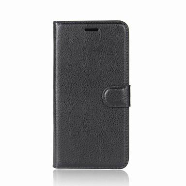 povoljno Maske za mobitele-Θήκη Za OnePlus One Plus 5 / OnePlus 5T / One Plus 3T Novčanik / Utor za kartice / sa stalkom Korice Jednobojni Tvrdo PU koža