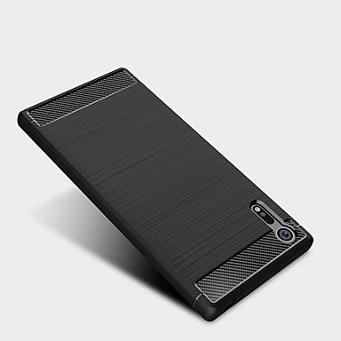 voordelige Hoesjes / covers voor Sony-hoesje Voor Sony Sony Xperia XZ Premium / Sony Xperia XZ / Sony Xperia XA1 Ultra Schokbestendig Achterkant Effen Zacht TPU