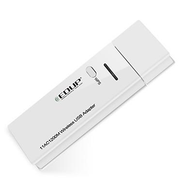 olcso adapterek-Edup usb WiFi adapter 1200mbps 11ac kétsávos wirelss hálózati kártya wifi dongle ep-ac1601