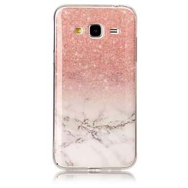 זול כיסויים לסדרת גלאקסי J-מגן עבור Samsung Galaxy J7 (2016) J5 (2016) IMD תבנית כיסוי אחורי שיש רך TPU ל J7 (2016) J7 J5 (2016) J5 (2017) J5 J3 J3 (2016) J3 (2017)