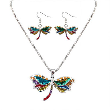 Pentru femei Colier / cercei Boem Modă Euramerican cercei Bijuterii Auriu / Argintiu Pentru Nuntă Petrecere Aniversare