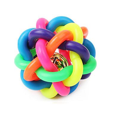 olcso Kutyajátékok-Golyó Nyüszítő játékok Bells Cicajáték Kutyajátékok Házi kedvencek Játékok Nyüszít Tartós Gumi Ajándék