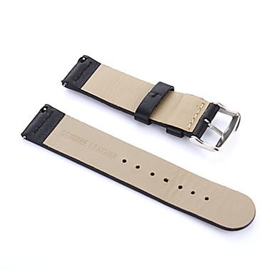 voordelige Smartwatch-accessoires-Horlogeband voor Moto 360 2nd Motorola Moderne gesp Echt leer Polsband