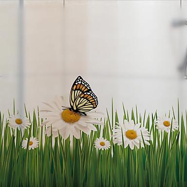 فيلم نافذة وملصقات زخرفة حيوانات طباعة PVC / Vinyl ملصق النافذة