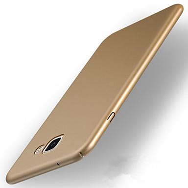رخيصةأون حافظات / جرابات هواتف جالكسي A-غطاء من أجل Samsung Galaxy A3 (2017) / A5 (2017) / A7 (2017) نحيف جداً / مثلج غطاء خلفي لون سادة قاسي الكمبيوتر الشخصي