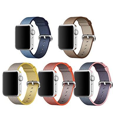 voordelige Smartwatch-accessoires-Horlogeband voor Apple Watch Series 5/4/3/2/1 Apple Klassieke gesp Nylon Polsband