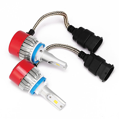 voordelige Autokoplampen-H8 h9 h11 led koplampen led koplampen met 2 stuks conversie kits 36w 3600lm bridgelux csp chips mistlicht