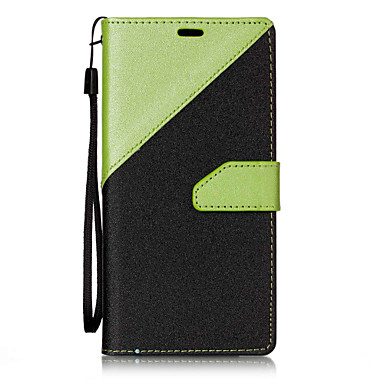 رخيصةأون LG أغطية / كفرات-غطاء من أجل LG LG V20 / LG StyLo 3 / LG G6 محفظة / حامل البطاقات / مع حامل غطاء كامل للجسم نموذج هندسي قاسي جلد PU