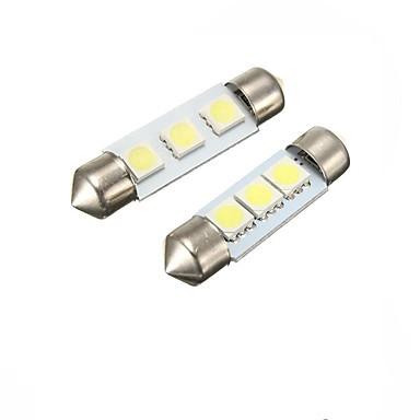 olcso Autó világítás-2pcs Festoon Autó Izzók 2 W SMD 5050 60 lm Belső világítás