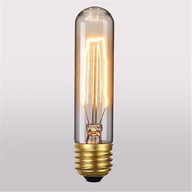 رخيصةأون LED وإضاءة-1PC 40 W E26 / E27 T10 أبيض دافئ 2300 k مكتب  /  الأعمال / ديكور المتوهجة خمر اديسون ضوء لمبة 220-240 V / 110-130 V