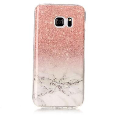 povoljno Maske/futrole za Galaxy S seriju-Θήκη Za Samsung Galaxy S8 Plus / S8 / S7 edge IMD Stražnja maska Mramor Mekano TPU