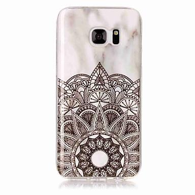 levne Galaxy S3 Pouzdra a obaly-Carcasă Pro Samsung Galaxy S8 Plus / S8 / S7 edge IMD Zadní kryt Mramor Měkké TPU