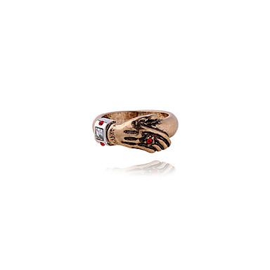 رخيصةأون خواتم-نسائي خاتم ذهبي سبيكة موضة لطيف euramerican في زفاف مناسب للحفلات مجوهرات