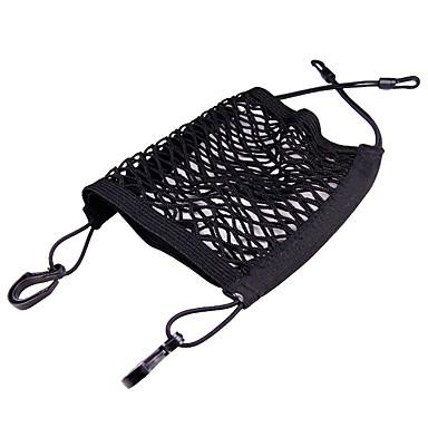 Недорогие Органайзеры для транспортных средств-универсальная эластичная сетчатая сумка для багажа / между сидениями автомобиля