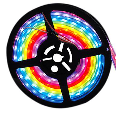 tanie Giętkie taśmy świetlne LED-HKV 5 m Elastyczne taśmy LED 300 Diody LED 2835 SMD Fioletowy Wodoodporny / Nadaje się do krojenia 12 V 1 szt.