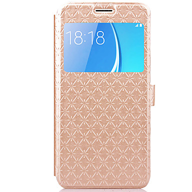 Θήκη Za Samsung Galaxy J7 (2016) / J5 (2016) Utor za kartice / sa stalkom / Zaokret Korice Geometrijski uzorak Tvrdo PU koža