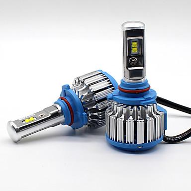 voordelige Autokoplampen-SO.K 9005 Automatisch Lampen 35 W Krachtige LED 7000 lm Koplamp Voor