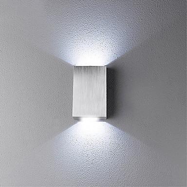 levne Vnitřní světla-LED / Novinky Stěnové lampy Kov nástěnné svítidlo 85-265V / Integrované LED světlo