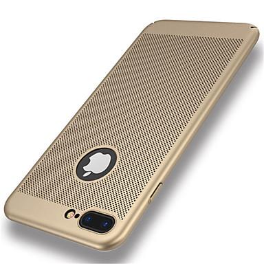 voordelige iPhone 5 hoesjes-hoesje Voor Apple iPhone 8 Plus / iPhone 8 / iPhone 7 Plus Ultradun Achterkant Effen Hard PC
