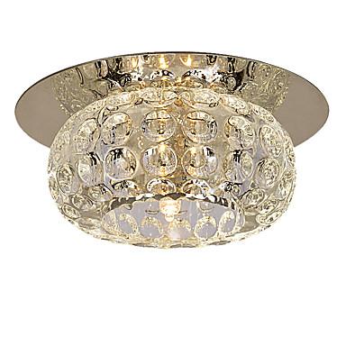 """tanie Oświetlenie wewnętrzne-LightMyself™ 10(4"""") Kryształ / Styl MIni Lampy sufitowe Współczesny współczesny 110-120V / 220-240V / G4"""