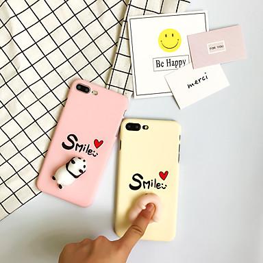 voordelige iPhone 6 hoesjes-hoesje Voor iPhone 7 / iPhone 7 Plus / iPhone 6s Plus iPhone 7 Plus / iPhone 7 / iPhone 6s Plus Patroon / DHZ / squishy Achterkant Woord / tekst Hard PC