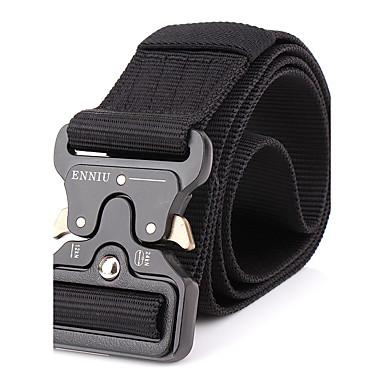 رخيصةأون اكسسوارات رجالية-حزام خصر سادة سبيكة للرجال