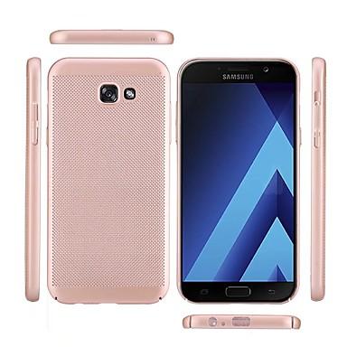 رخيصةأون حافظات / جرابات هواتف جالكسي A-غطاء من أجل Samsung Galaxy A3 (2017) / A5 (2017) / A7 (2017) مثلج غطاء خلفي لون سادة قاسي الكمبيوتر الشخصي