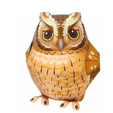 1199 Puzzles 3d Maquette En Papier Kit De Maquette Oiseau Aigle Chouette Animaux A Faire Soi Même Simulation Papier Cartonné Classique Enfant