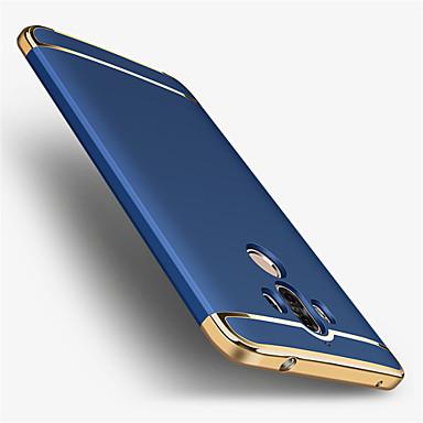 voordelige Huawei Mate hoesjes / covers-hoesje Voor Huawei Mate 9 / Mate 9 Pro / Huawei Beplating Achterkant Effen Hard PC